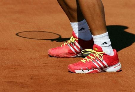 de audible medianoche  Verdasco estrena zapatillas en la Davis - Tradesport