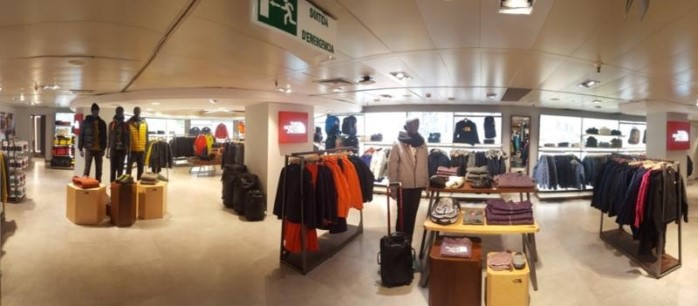 the north face store barcelona